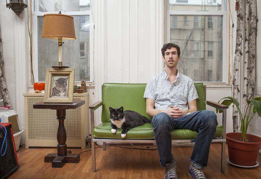 mačka i muškarac - slika 3