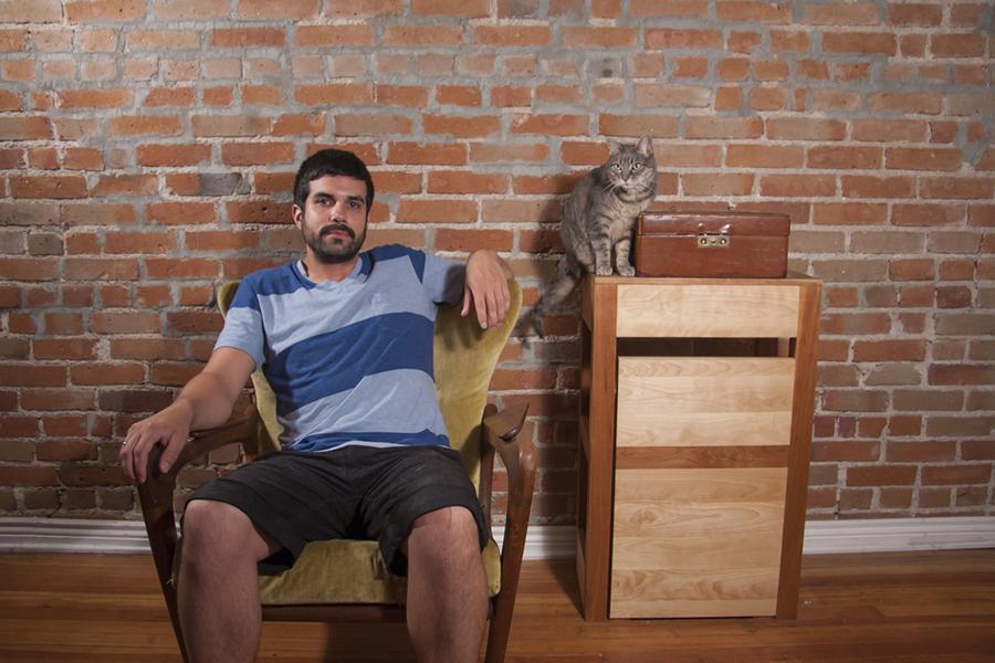 mačka i muškarac - slika 7